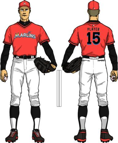 low cost 68cc0 203c8 The Ultimate Baseball Look: Miami Marlins