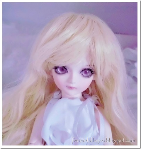Of Bjd Hair: Reviewing Three Wigs? From Alice's Collections AFB6023 Blond wig for yosd bjds.