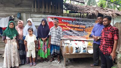 Eddie Foundation Santun Walimatul Ursy Di Bireuen
