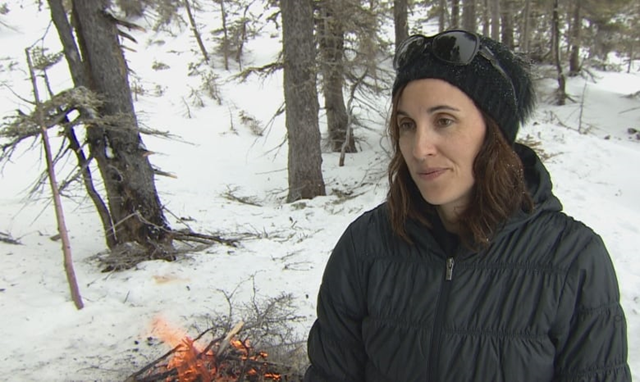 Researcher Ashlee Cunsolo studied the psychological effects of climate change in Labrador. Photo: Jean-François Bisson / CBC