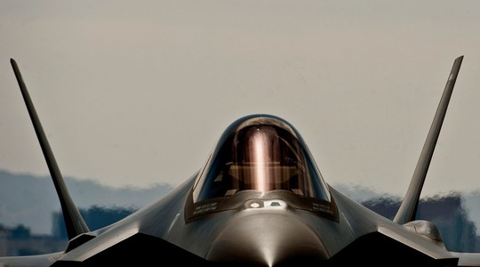 Tia chop F35 cua My Anh Reuters