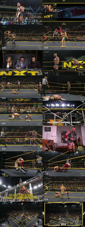 Screen Shot Of WWE NXT 20th November 2019 HDTV 480P 300MB