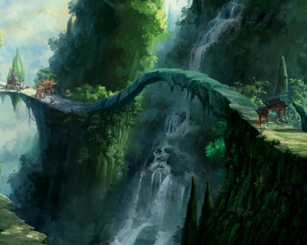 Mysterious Territory Of Sorrow, Magical Landscapes 6