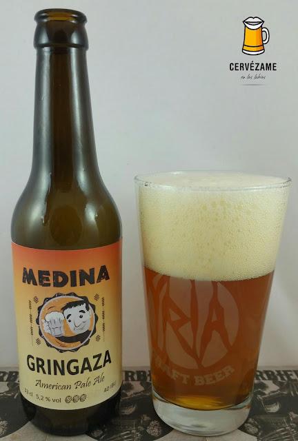 cerveza Medina Gringaza cervezame