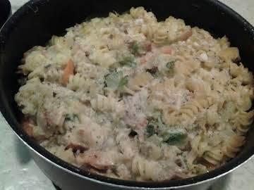 Easy Chicken Pasta Casserole