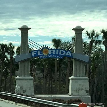 Landing in Florida!