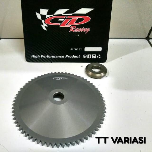 Upgrade CVT Vario 110 Karbu, Simak Beberapa Part Yang Harus Diubah !!!