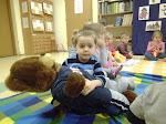 Przedszkolaki w bibliotece Dzień Pluszowego Misia 25-25.11.2015