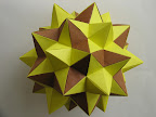 "Truncated Icosahedral Star Instructions in Miyuki Kawamura's book ""Polyhedron Origami for Beginners"""
