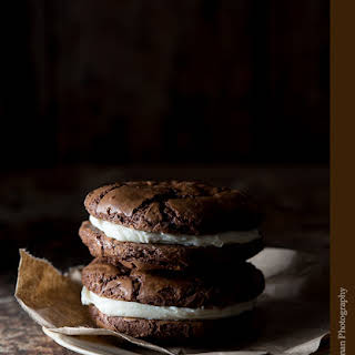 The Best Chocolate Sandwich Cookies.