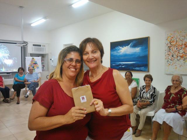 Confraternizacao 2013 - Historias do Meu Tempo (com Regina Palladino, a direita)