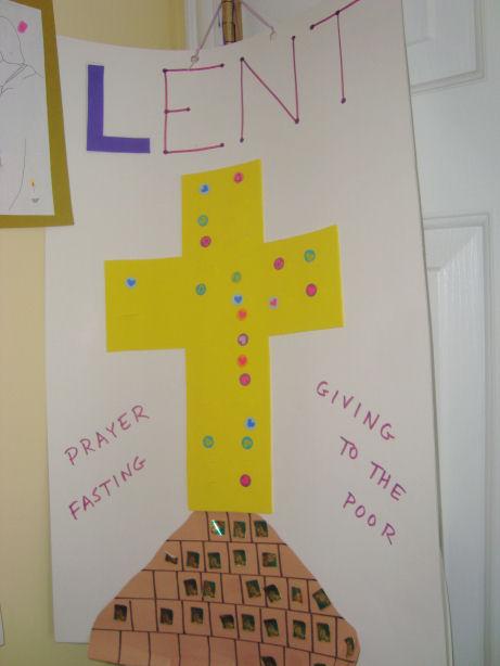 Almsgiving Activity For Children During Lent