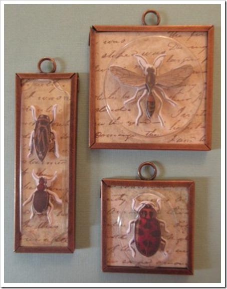 Ranger Memory Frame Insect Memory Frame Pendants