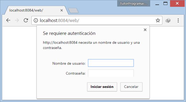 Tutorial Seguridad básica HTTP con Spring Security