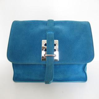 Fontana Blue Crossbody Bag