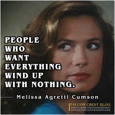 #032_Melissa_people who want everything_Falcon Crest