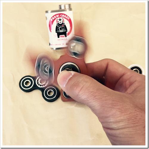 S 5332262284818 thumb%25255B2%25255D - 【ガジェット】「ハンドスピナー」レビュー。手持ち無沙汰に最適。ペン回し代わり回転の力に敬意を払え。ガジェット大好き大人のおもちゃ【Fidget/フィジェット/ハンドキューブ】