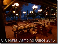 Croatia Camping Guide - Camp Strasko Restaurant