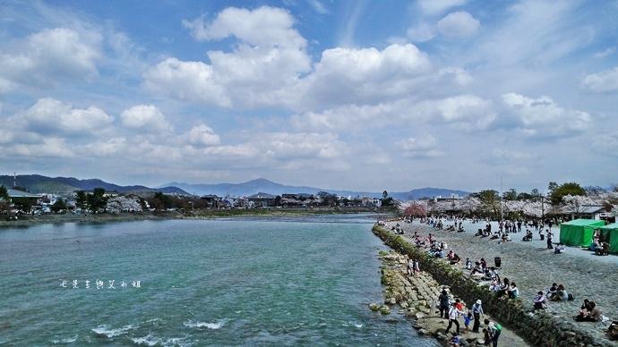 8 京都 嵐山渡月橋 賞櫻 櫻花 Saga Par 五色霜淇淋 彩色霜淇淋