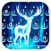 Glowing Forest Deer Keyboard Theme icon