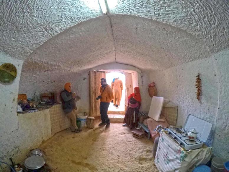 Visitar MATMATA - Descobrindo as casas trogloditas tunisinas | Tunísia