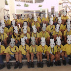Making Rabbit Head Gears by Sr.Kg 2012-13