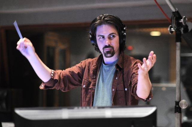 Composer Bear McCreary.