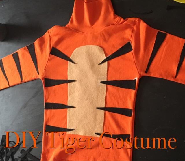 Fara u0027s Spot A lifestyle blog & Fara u0027s Spot A lifestyle blog : DIY Tiger Costume
