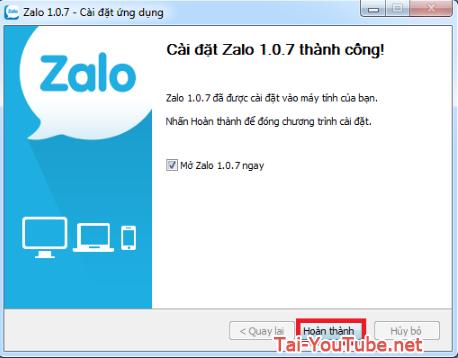 Hướng dẫn tải và cài đặt ứng dụng Zalo cho máy tính + Hình 3