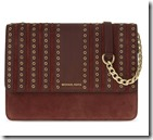Michael Michael Kors Leather and Suede Cross Body Bag