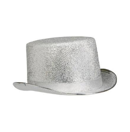 Hög hatt, silver