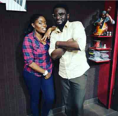 Bisola pictured with TY Mix