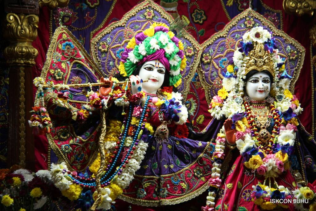 ISKCON Juhu Sringar Deity Darshan 29 Jan 2016 (12)