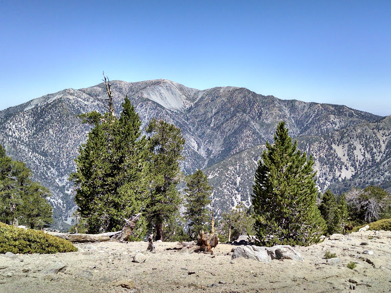 Ontario Peak and Bighorn Peak • View of Mount Baldy