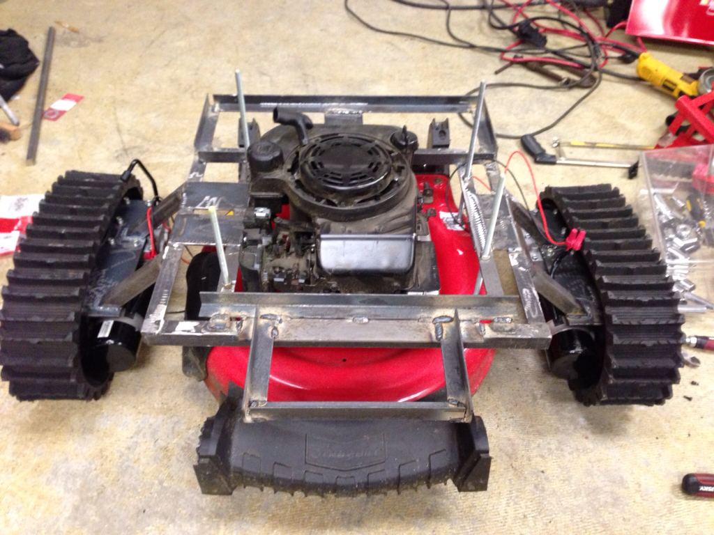 Garden Tractor Track Drive Kit : Tank treads robot and tracks kits parts