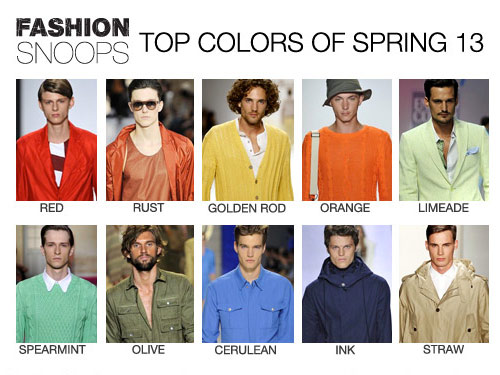Men's Top Color Spring 2016 Fashion Snoops Trend Report