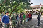 Danramil 03/Serengan Kodim Surakarta Pimpin Langsung Penyiapan Sarpras KBD Tahap II TA. 2021