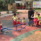 Field Trip to Garden by Playgroup Morning Section at Witty World, Chikoowadi (2017-18)