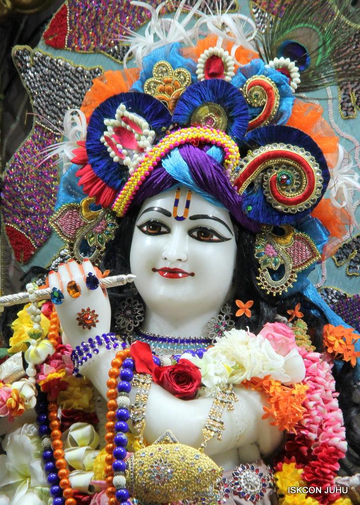 ISKCON Juhu Sringar Deity Darshan on 19th Oct 2016 (7)