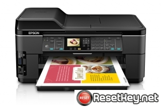 Reset Epson WorkForce WF-7511 printer Waste Ink Pads Counter
