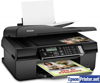 Reset Epson TX320F printer with application