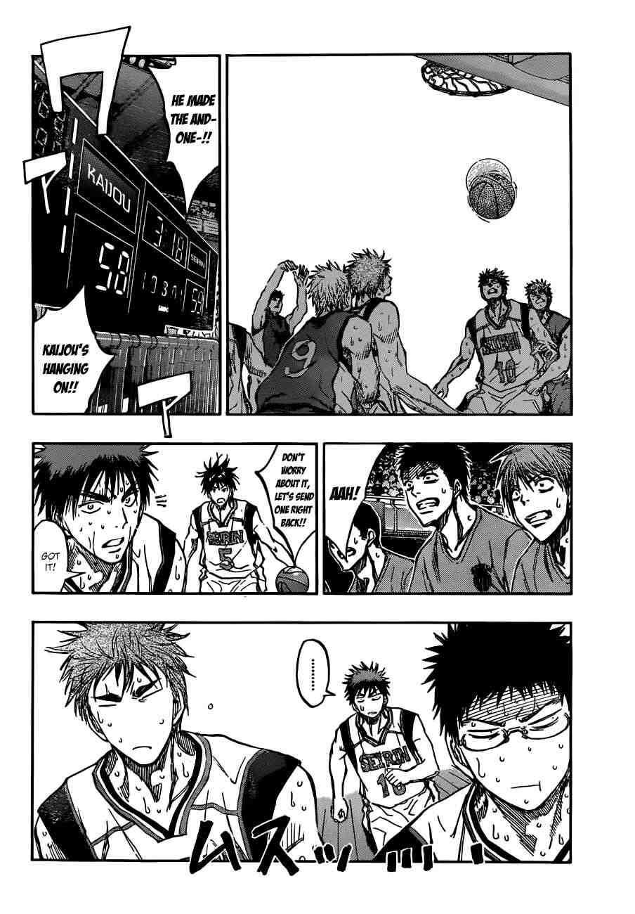 Kuroko no Basket Manga Chapter 194 - Image 08