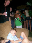 Kenny has incredible afterparties, but Semmy's kids were just too tired to enjoy it