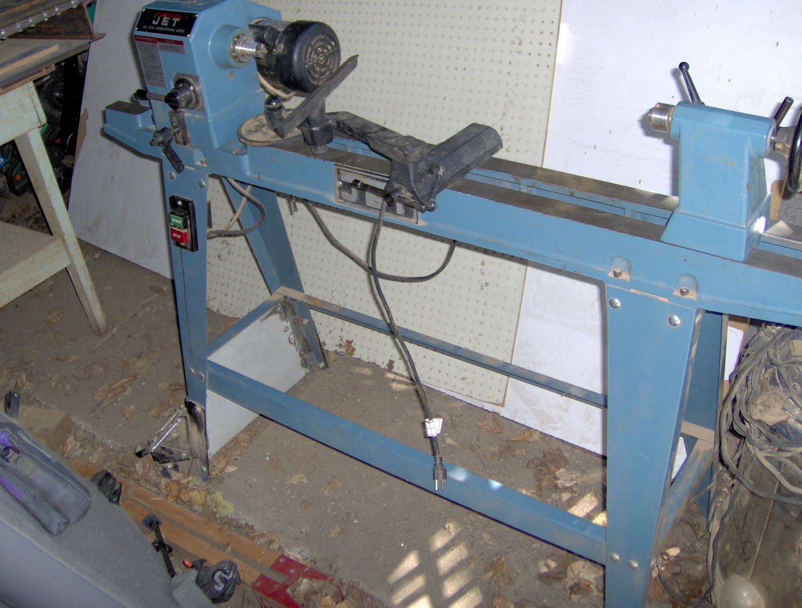 Re Jet 1236 Wood Lathe For Sale 300 00 25 Percent Of