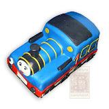 39. kép: Formatorták (fiúknak) - Thomas gőzmozdony torta