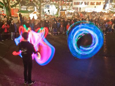 Feuer- und Lighshow mit dem Zirkus Papperlapapp aus Bad Säckingen