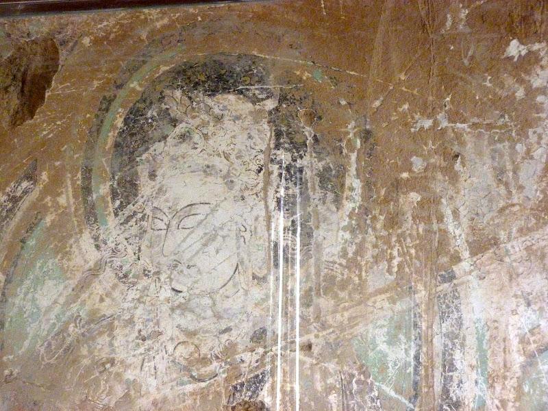 XINJIANG.  Turpan. Ancient city of Jiaohe, Flaming Mountains, Karez, Bezelik Thousand Budda caves - P1270994.JPG