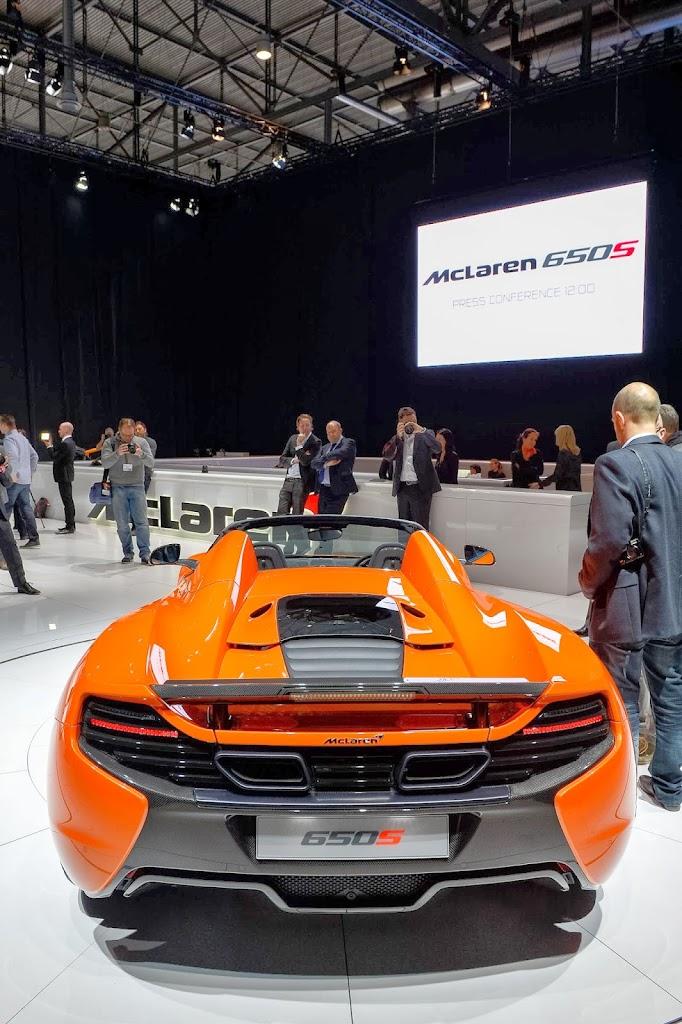 McLaren 650S Spider Geneva Motor Show 37