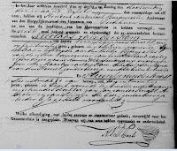 Ham, Nicolaas en Kwast, Pleuntje v.d. Huwelijksafkondiging 1833.jpg