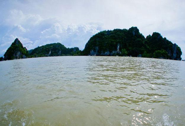 ตามรอยพระพุทธเจ้าหลวงเกาะสี่เกาะห้า จังหวัดพัทลุง